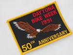1990 50th Anniversary Daytona Bikeweek Patch