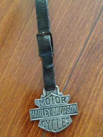 Harley Davidson Bar/Shield Pocket  Watch Fob