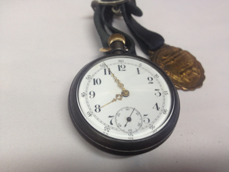 Vintage Motorcycle Theme Pocketwatch