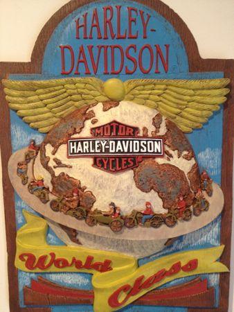 Harley DAVIDSON BAR SIGN