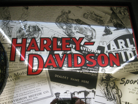 Harley Davidson Wall Mirror