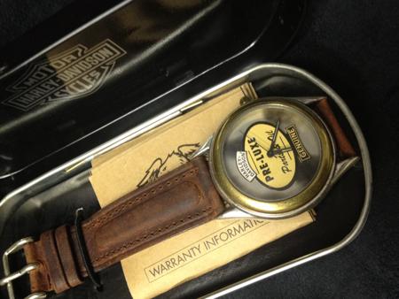 Harley Davidson pre-Lux Oil  Watch