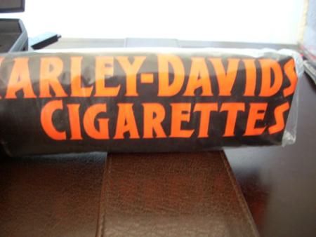 Harley Davidson Cigarette  Duffle Bag