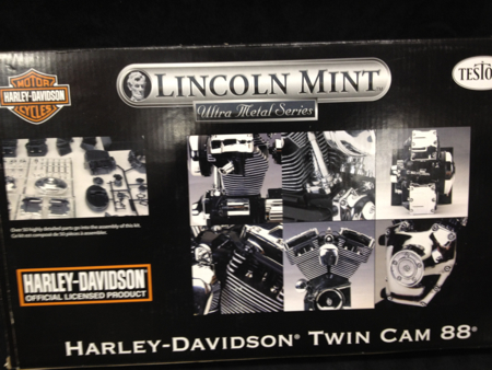 Lincoln Minrt Harley Twin Cam Model 1:4 Scale