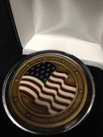 Bronze Harley Davidson HOG Medallion
