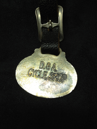 Vintage Harley Davidson Pocket Watch Fob