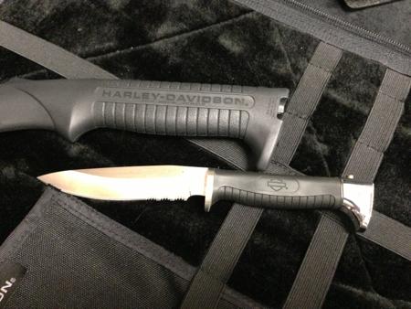 HARLEY- DAVIDSON AXE / HATCHET KNIFE COMBO