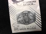 Vintage Harley Davidson Harmony Pewter Pin