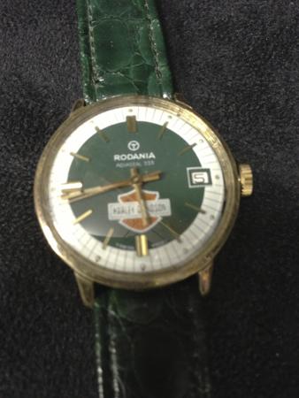 Harley Davidosn Vintage Rodania Watch