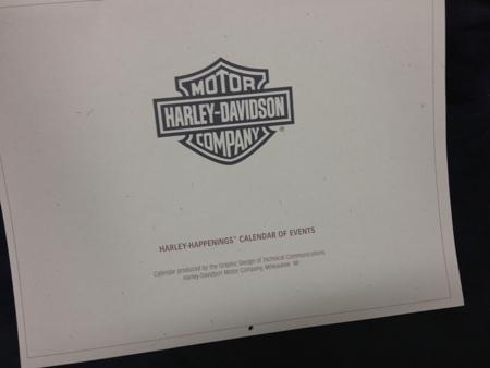 1998 HARLEY-DAVIDSON 95 ANNIVERSARY CALENDAR