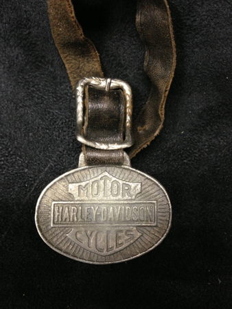 Vintage Harley watch Fob
