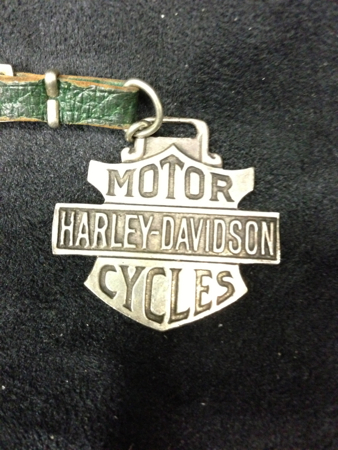 Vintage Harley Bar and Shield watch Fob
