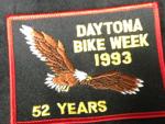 1993 Daytona Bike Week Patch