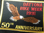 1991 Daytona Bike week Patch