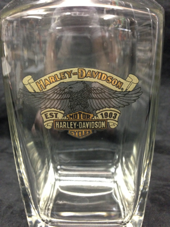 Harley Davidson Eagle Glass Decanter
