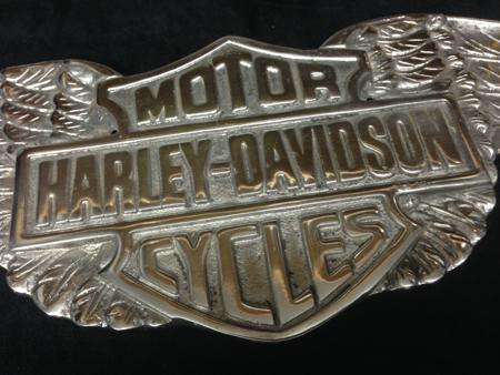 Aluminum Vintage Style Harley Wings