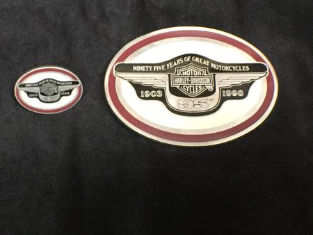 95th Anniversary Buckle with pin Numbered