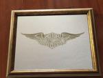Harley Davidson Vintage 1982 Mirror