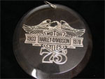 75th Harley Davidson Dealer Only Ornament