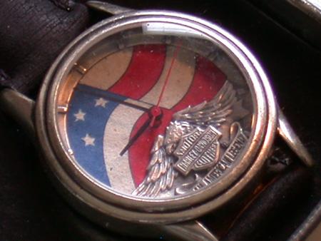 Harley Davidson genuine Timepiece
