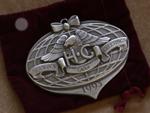 1993 HOG Dealer Pewter Ornament