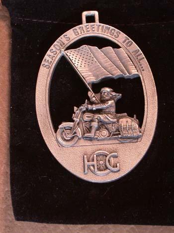 Harley Davidson 1996 HOG ornamnent