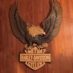 Vintage Harley Davidson Plastic Eagle 1980\'s