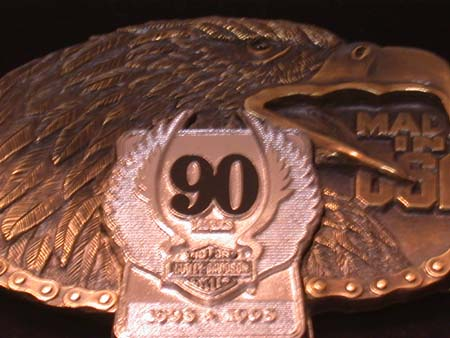 90th LIMITED EDITION BUCKLE (LARGE)