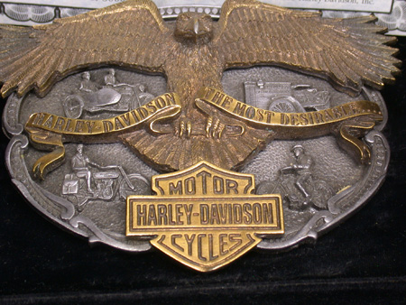 Harley Davidson The Most Desirable Buckle