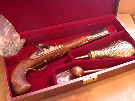 75th Anniversary Black powder Replica