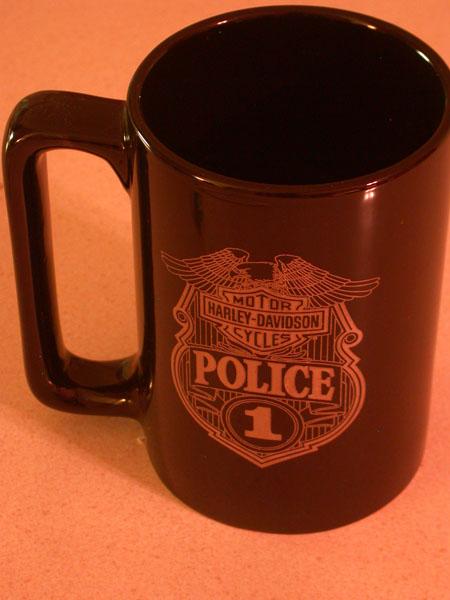 Police Ceramic HD Mug