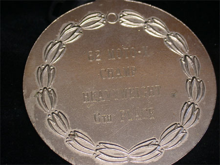 Motorcycle MotoX Racing Medal