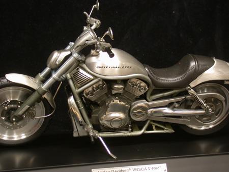 FRANKLIN MINT Harley Davidson Pewter V-Rod