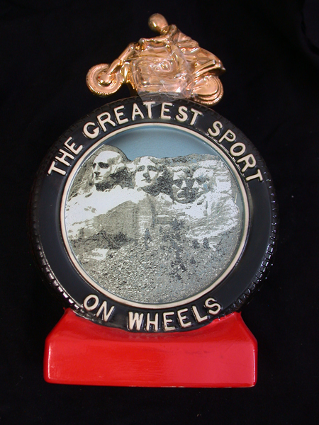 Sturgis Rally Decanter
