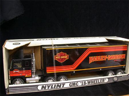 HARLEYDAVIDSON NYLINT BOX TRUCK 99225-86V