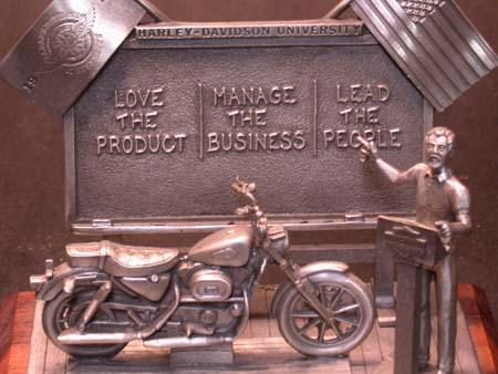 1996 Harley University   Petwer Statue