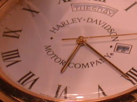 Harley Davidson Brass Pocket watch NIB