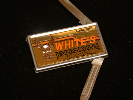 Whites HD Dealer Vintage knife Money Clip